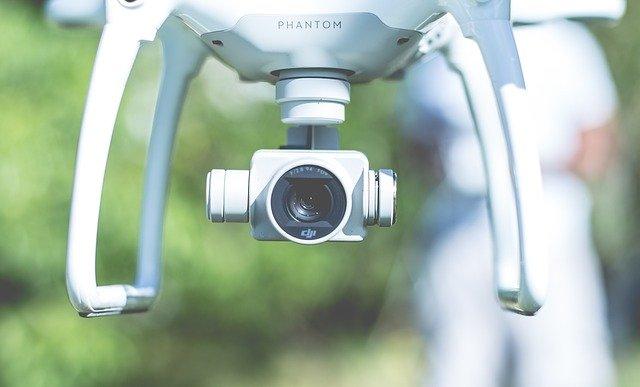 Intelligente sensoren zorgen ervoor dat drones privédomein niet in beeld brengen